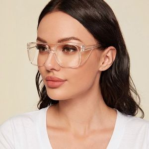 Shein clear protective glasses NWT